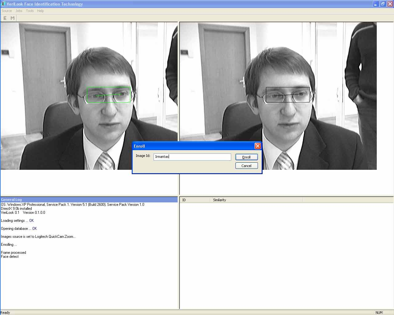 Face identification SDK (supports Visual C++ 6/7)